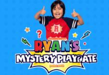 Ryan's Mystery Playdate Sweepstakes
