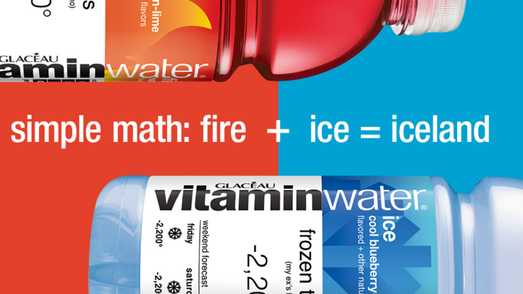 Vitaminwater Fire and Ice Sweepstakes