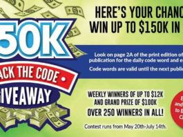 $150k Crack The Code Giveaway
