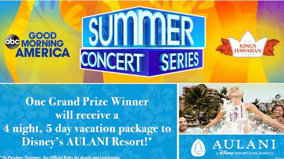 Good Morning America Hawaii Trip Sweepstakes