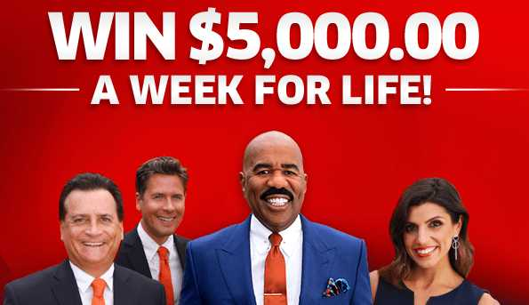 PCH Win $5,000 A Week For Life Sweepstakes