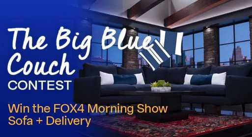 Fox 4 Big Blue Couch Contest