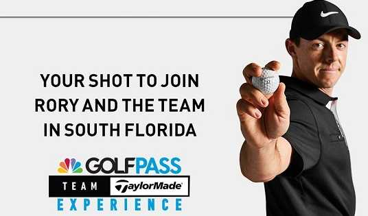 Golfpass Team Taylormade Sweepstakes