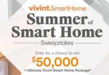 HGTV Summer of Smart Home Sweepstakes (HGTV com/SmartSummer)