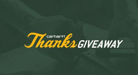 Carhartt ThanksGiveaway