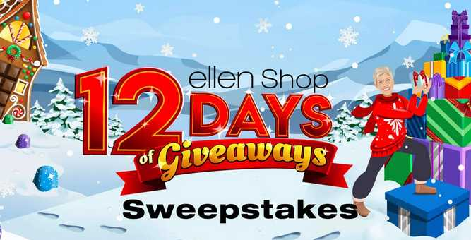 Ellen Shop 12 Days of Giveaways Sweepstakes