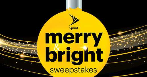 Sprint Merry And Bright Sweepstakes Giveaway