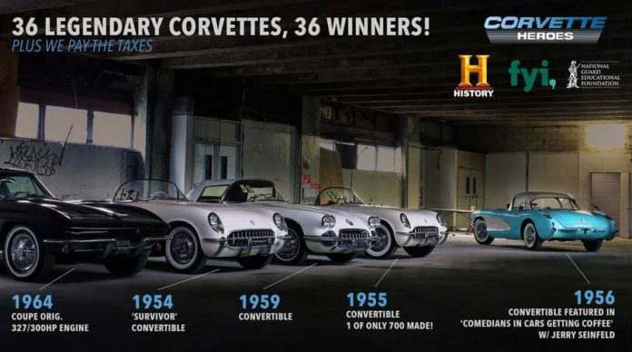 The Lost Corvettes Giveaway 2019