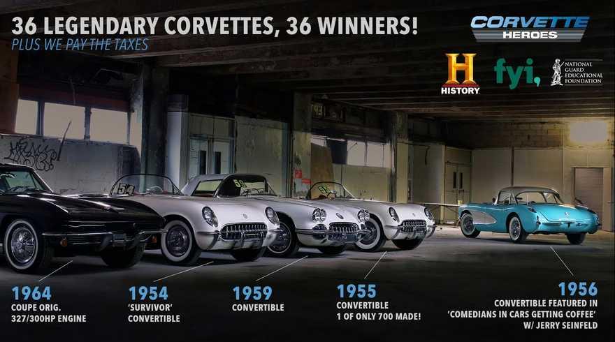 The Lost Corvettes Giveaway 2021 | Thelostcorvettes.com Giveaway