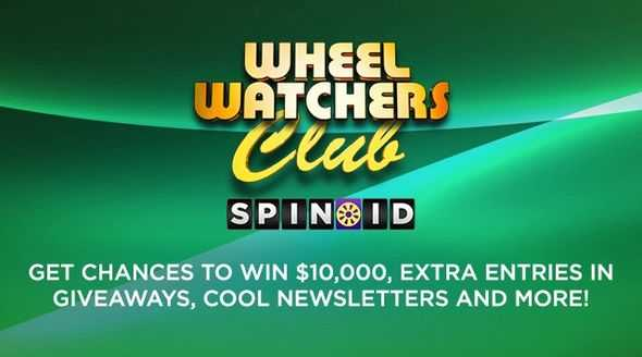 Wheel of Fortune Spin ID Number
