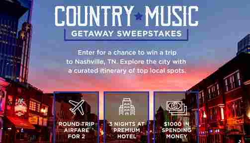 AETV Country Music Sweepstakes