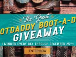 BootDaddy Boot A Day Giveaway