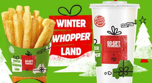 Burger King Winter Whopperland Sweepstakes