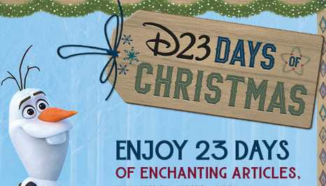 D23 Days Christmas Sweepstakes