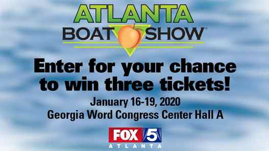 FOX 5 Atlanta Boat Show Giveaway