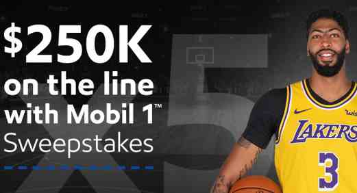 Mobil 1 On The Line Sweepstakes