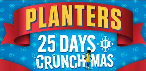 Planters 25 Days of Crunchmas Sweepstakes