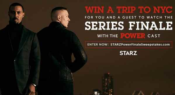 STARZ Power Finale Sweepstakes Giveaway