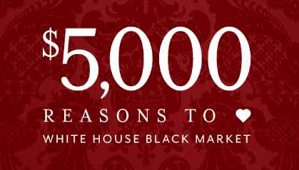 White House Black Market Sweepstakes