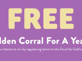 Golden Corral Sweepstakes