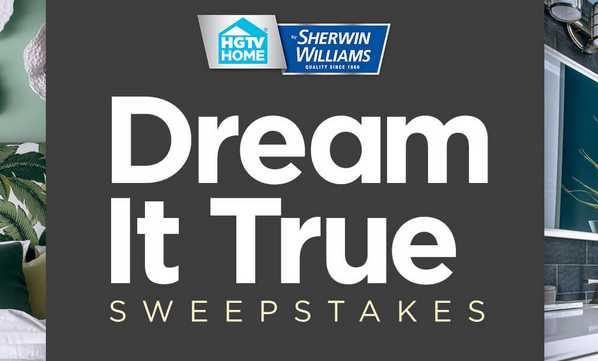 HGTV Dream It True Sweepstakes 2021