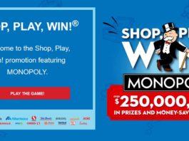 Safeway Monopoly Game 2020 Shop Play Win