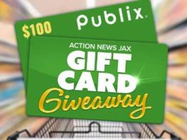 Action News Jax Publix Gift Card Giveaway