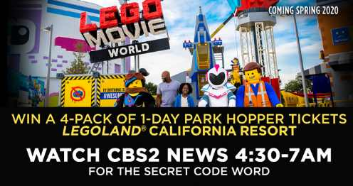 CBSLA LEGOLAND California Resort Contest