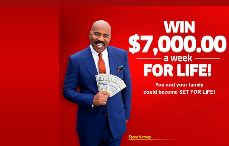 PCH Win $7,000 A Week For Life Sweepstakes 2021