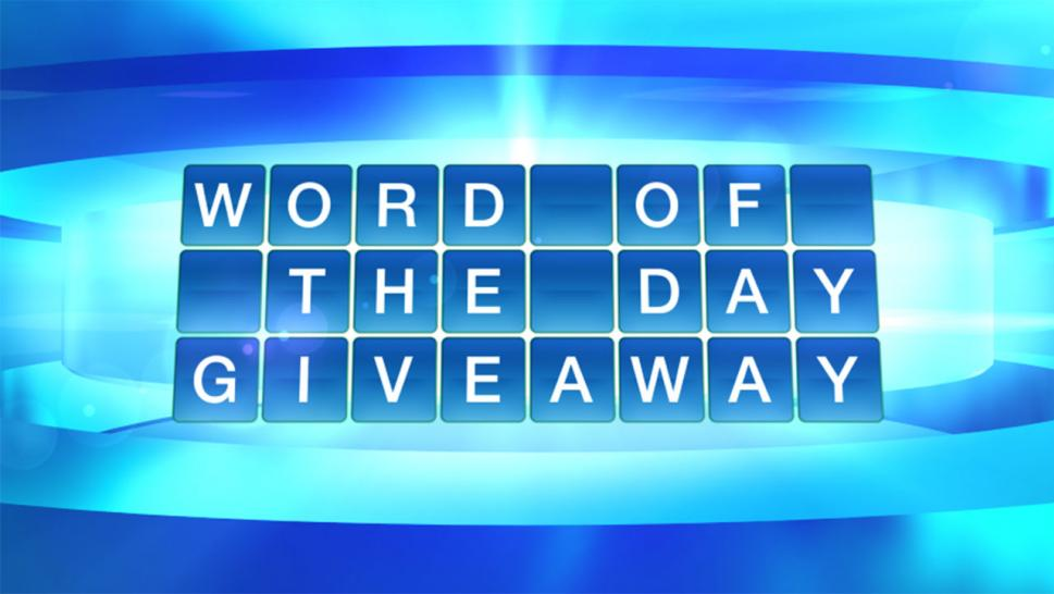 The Doctors Word Of The Day Giveaway