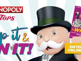 Tops Monopoly Game 2020