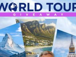 Wheel Of Fortune World Tour Giveaway