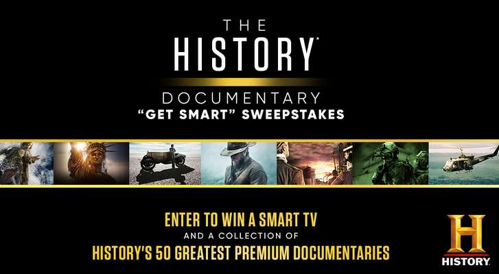 History Channel Documentary Get Smart Sweepstakes