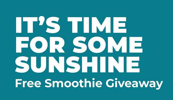 Tropical Free Smoothie Giveaway