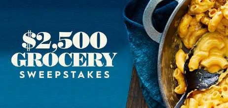 BHG $2,500 Grocery Sweepstakes 2020