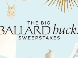 Ballard Design Sweepstakes 2020