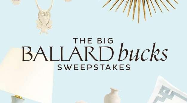 Ballard Design Sweepstakes 2020