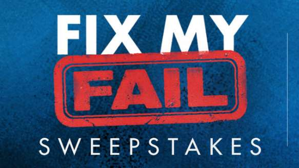 HGTV Fix My Fail Sweepstakes Code Word 2020