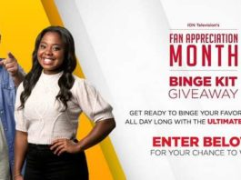 ION Television Binge Kit Giveaway Sweepstakes