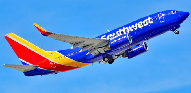 Southwest Airlines Ticket Giveaway Facebook Scam