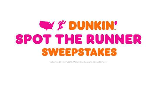 AGT Dunkin' Donuts Spot The Runner Sweepstakes