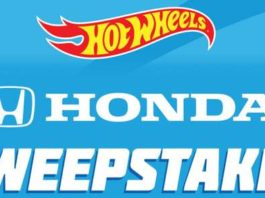 HOT WHEELS Kroger Honda Civic Sweepstakes