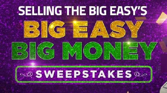 HGTV Big Easy Big Money Sweepstakes Code Word 2020
