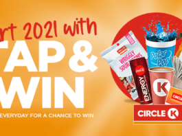 Circle K Tap and Win Sweepstakes 2021