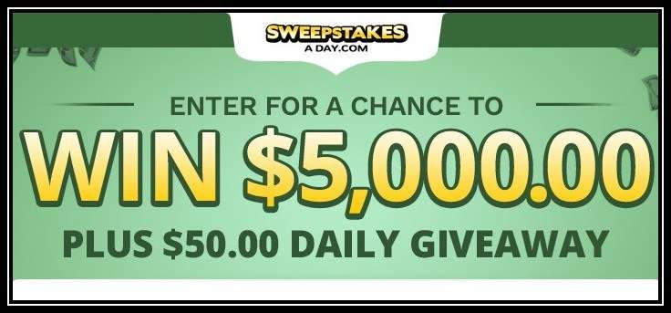 Daily Cash Sweepstakes 2021 - Win $5,000 Cash Prize