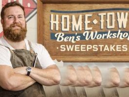 HGTV Home Town: Ben's Workshop Sweepstakes
