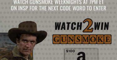 INSP Gunsmoke Sweepstakes Contest 2021 Secret Code Word