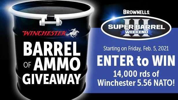 Brownells Super Barrel III Giveaway 2021