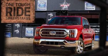 Built Ford Tough One Tough Ride PBR Sweepstakes 2021