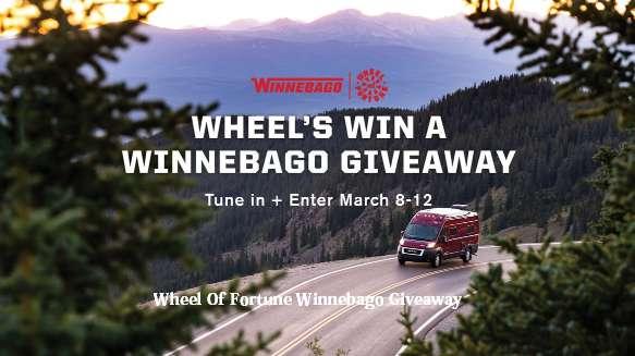Wheel Of Fortune Winnebago Giveaway Sweepstakes